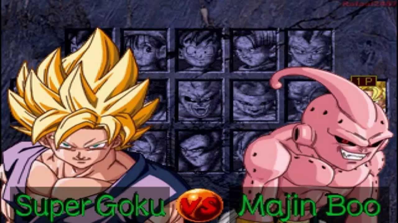 dragon ball gt final bout super goku vs majin boo hd youtube