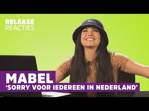 Download Lagu  MABEL praat Nederlands: 'Dit is zo GÊNANT…!' | Release Reacties Mp3 Free
