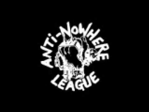 AntiNowhere League  Never Drink Alone