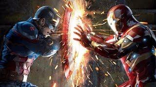 Kaptan Amerika Vs Demir Adam  Dövüş Sahnesi