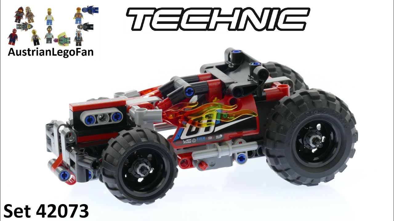 Lego Technic 42073 Bash! - Lego Speed Build Review