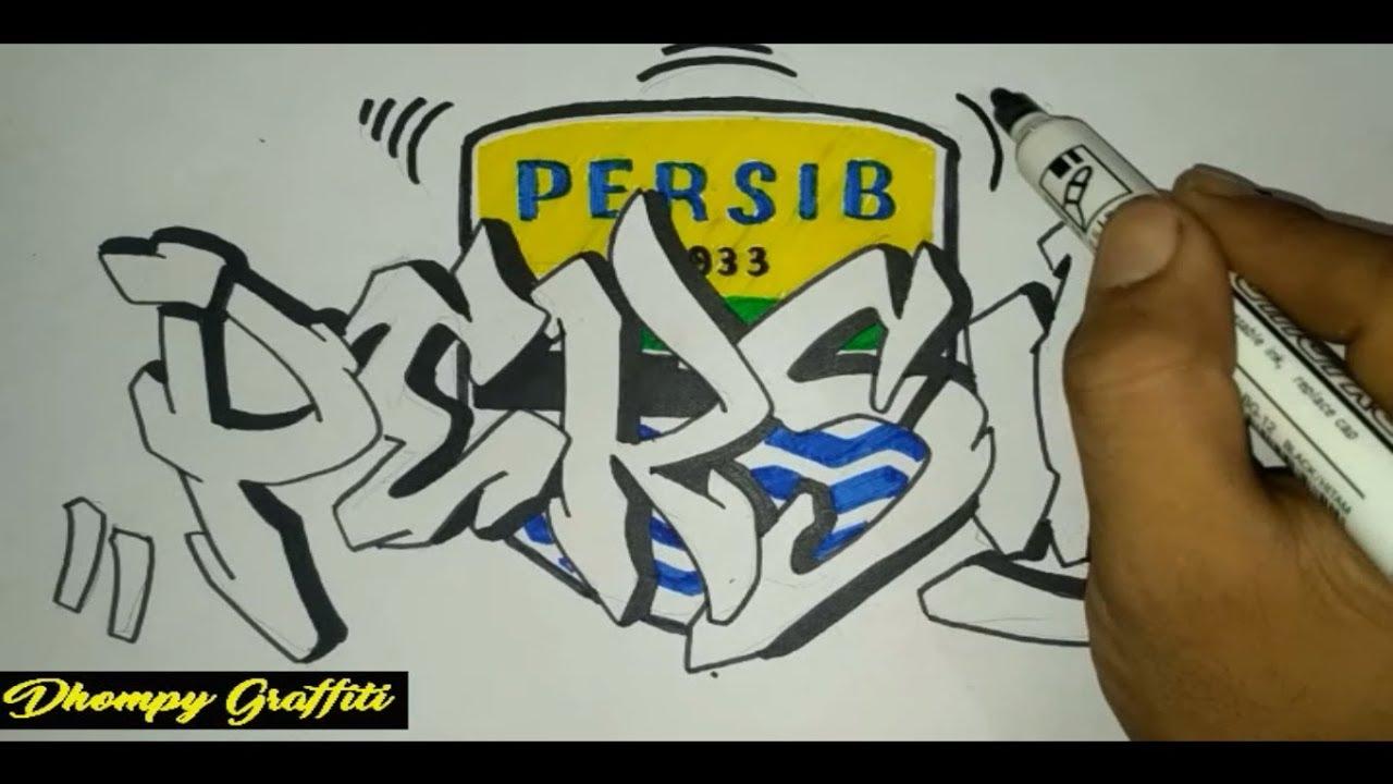 Graffiti Persib Bandung Youtube