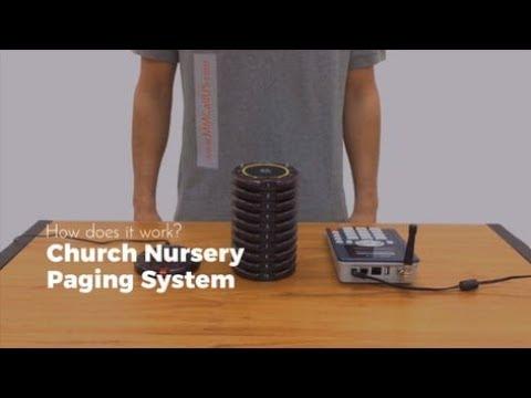 Church Nursery Paging System