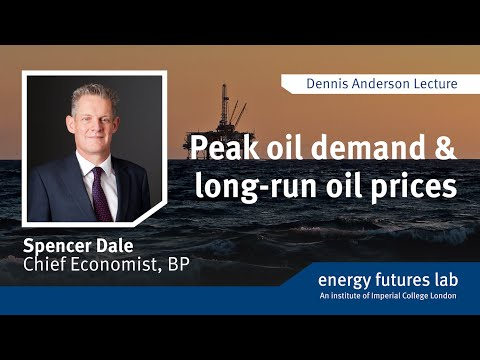 Dennis Anderson Lecture 2017: Peak oil demand and long-run oil prices