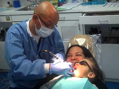 Nathalia 3 Years Old Gets Her Teeth Cleaned No Tears