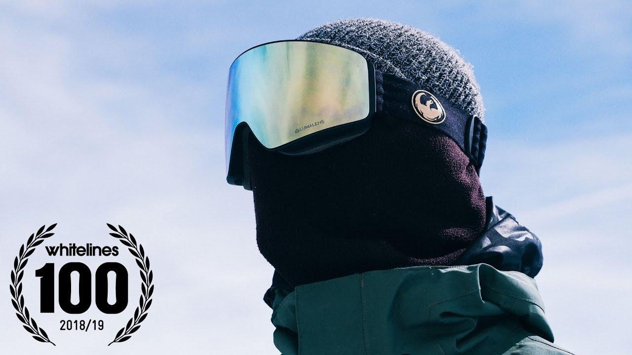 34c597cebf7e BEST SNOWBOARD GOGGLES OF 2018-2019 - DRAGON ALLIANCE - THE WHITELINES 100