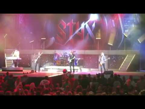 Styx live 2017 Radio Silence Jacksonville FL July 20, 2017