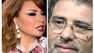 خالد يوسف انتو بتحبو الفضايح وايناس الدغيدي ترد عليه: كان لازم تاخد بالك