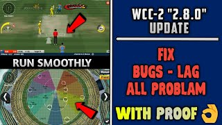 Wcc-2 2.8.0 Update Fix 100℅ All Bugs, Lag, All Problams With Proof   Run Smoothly👌👌