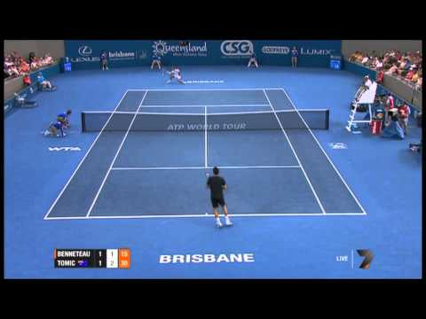 Bernard Tomic - What is that shot? No one plays that shot.