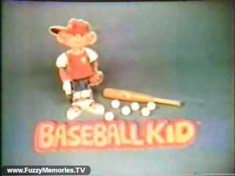 """""""The Baseball Kid"""" By Ohio Art (Commercial, 1981)"""