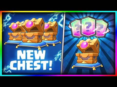 OPENING ALL AWESOME NEW CHEST!! NEW LUCKY CHEST OPENING - Clash Royale Magic Archer Chest Opening