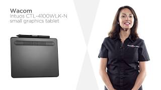 Wacom Intuos CTL-4100WLK-N Small Graphics Tablet | Product Overview | Currys PC World