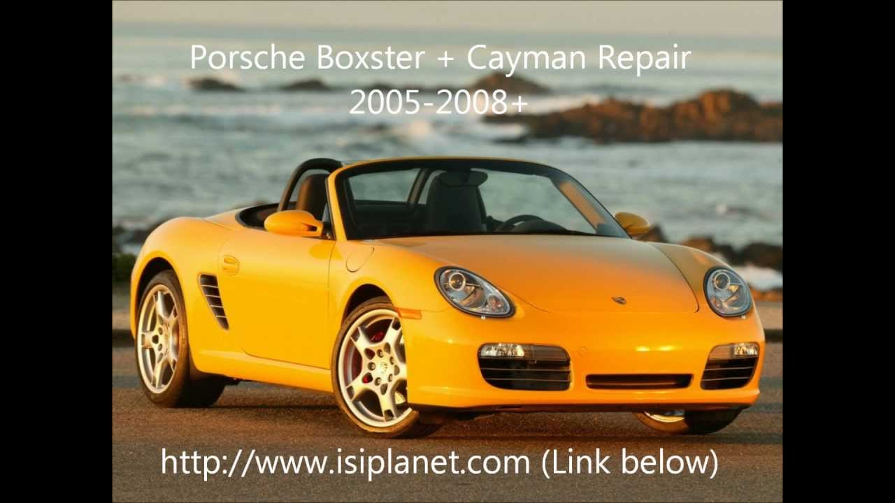 boxster cayman 987 2005 2008 repair manuals and quality parts youtube rh youtube com 2005 porsche boxster owners manual pdf Porsche Boxster Engine Diagram