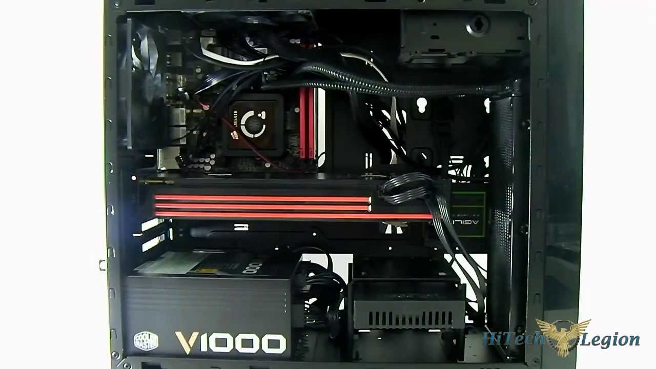 Cooler Master N200 Mini Tower Case Component Installation Tutorial Wiring Diagram Guide Youtube