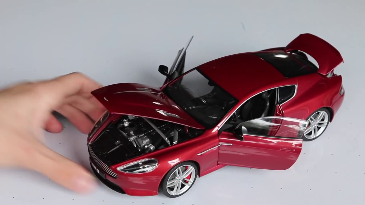 Review 1 18 Scale Welly Aston Martin Db9 Youtube