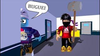 EU BUGUEI NO MAPA!! FLEE THE FACILITY ROBLOX