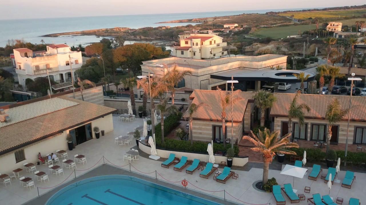 Panorama from minaret near sunset hotel minareto for Hotel panorama siracusa