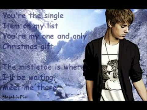 1) Justin Bieber - Only Thing I Ever Get For Christmas (Lyrics ...