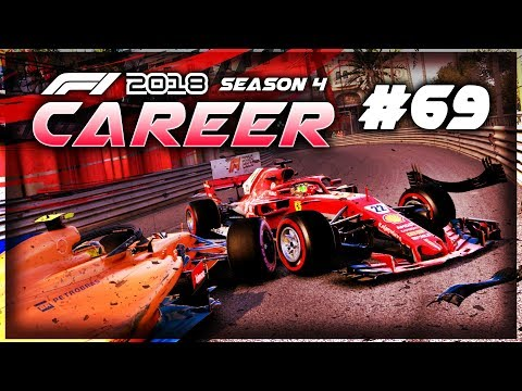 WELL THAT'S NOT GONE WELL...... - F1 2018 Career Mode Part 69: Monaco GP