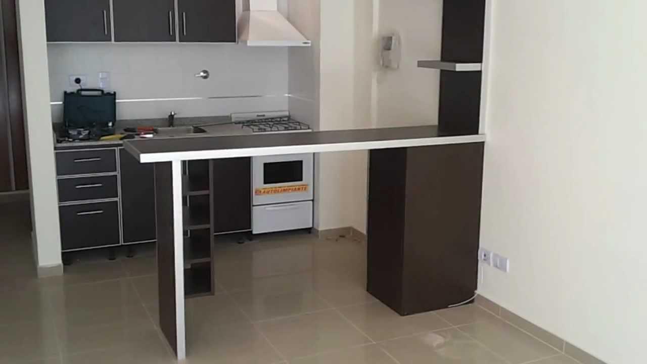 Fabrica desayunadores barras en villa devoto c a b a Barra cocina madera