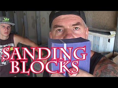 How To Make Sanding Blocks-Automotive Collision Repairs/Car Restoration
