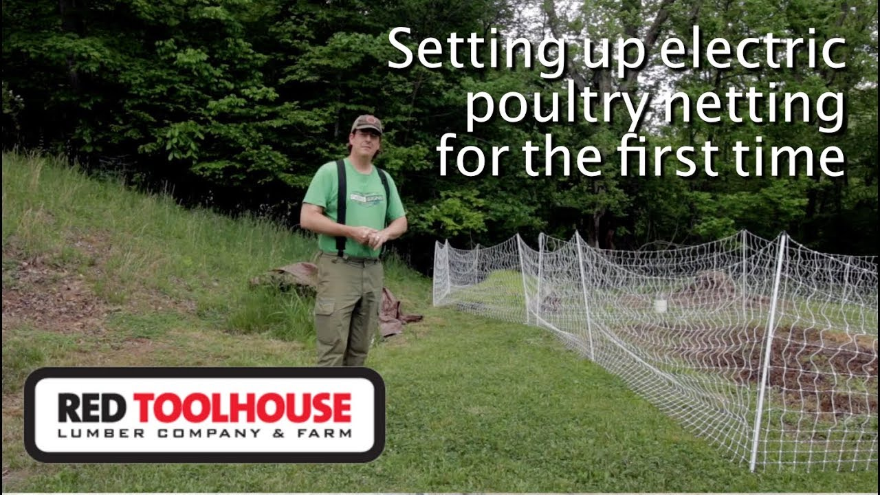 Ep118:New poultry netting and a gift from a viewer
