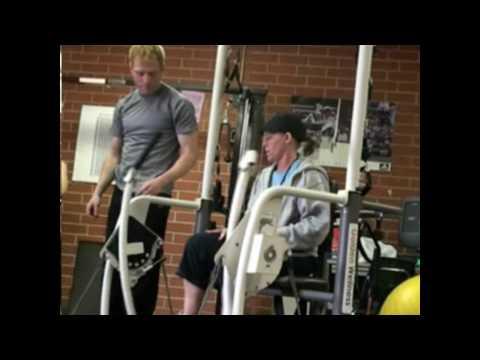 Adaptive Physical Education Teachers On Fitness Arch