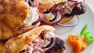 Блюда из баранины рецепты.Кебабы из баранины с курагой и орехами