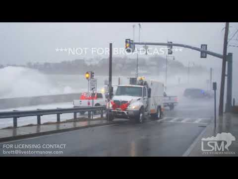 03-02-2018 Winthrop, MA - Massive Waves and Storm Surge
