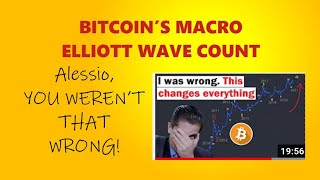 BITCOIN'S MACRO ELLIOTT COЏNT TO 120K A Response to Alessio Rastanis Count - He wasn't that wrong!