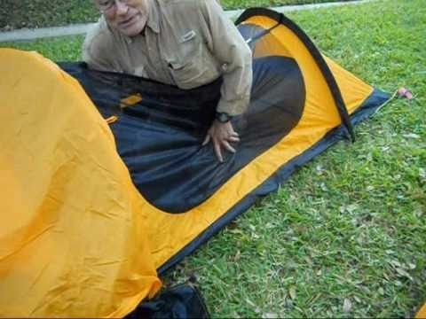 Ten Minute Tent Eureka Solitaire Solo Backpacking Tent Pitch 11-25-10 - YouTube & Ten Minute Tent: Eureka Solitaire Solo Backpacking Tent Pitch 11 ...