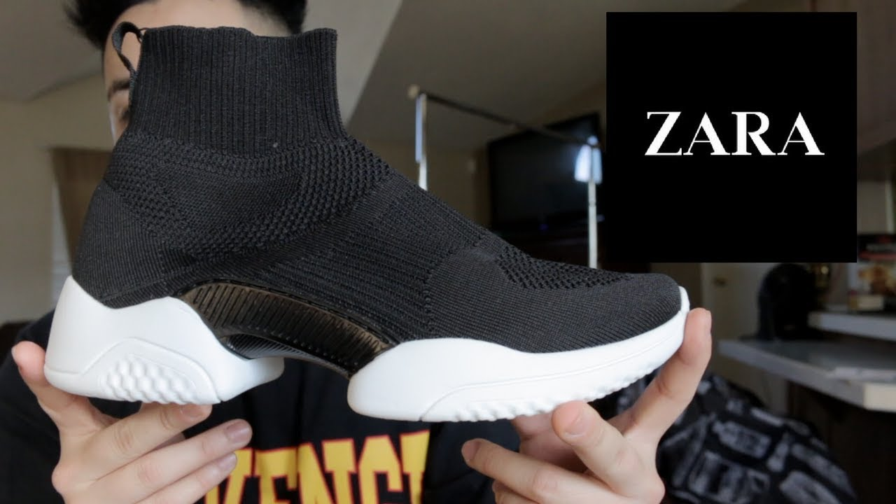 check out a5771 f78c3 BALENCIAGA SPEED TRAINER REVIEW!!!   ZARA VERSION!! + ON FEET!!