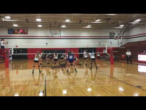 October 11, 2016 Lake Norman Charter JV vs South Point Set 2 (22-25)