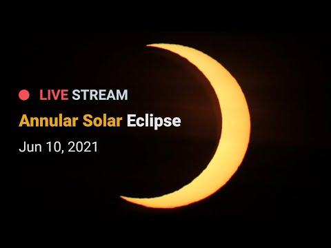 Annular Solar Eclipse - June 10, 2021