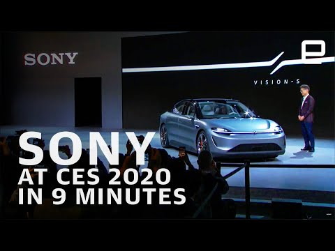 Sony at CES 2020 in 9 minutes