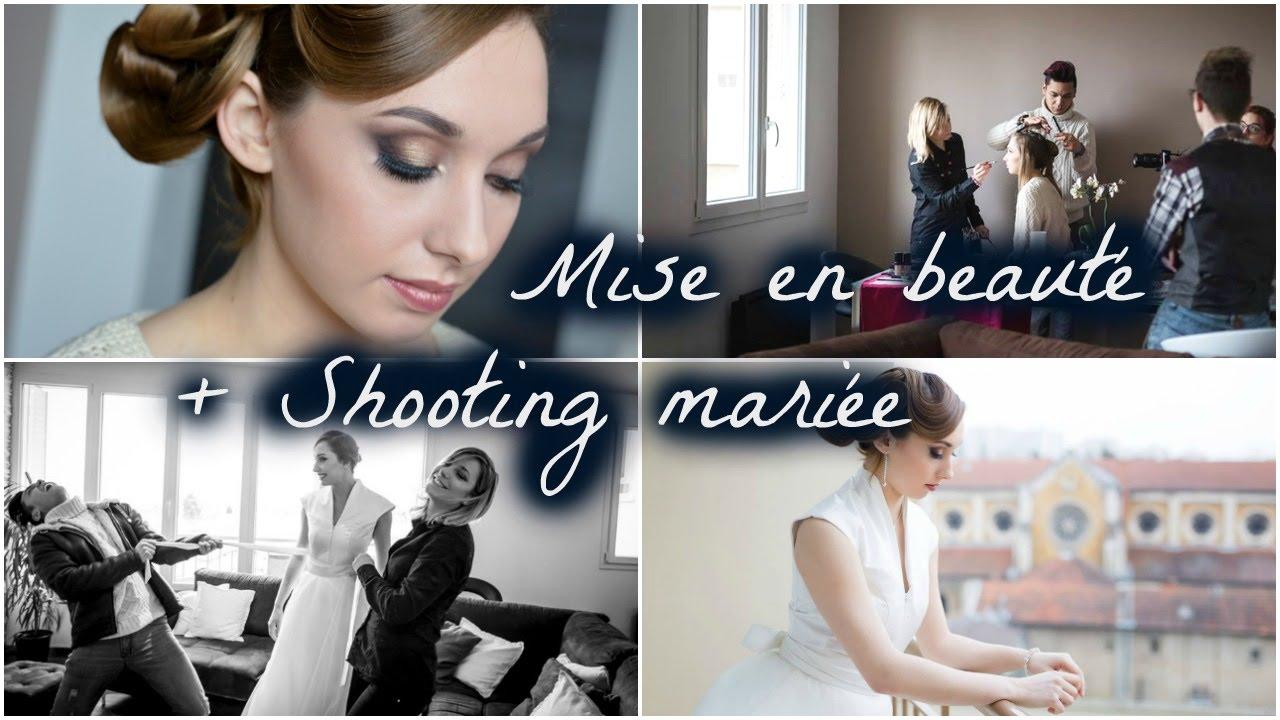 Mise en beauté & Shooting Mariage