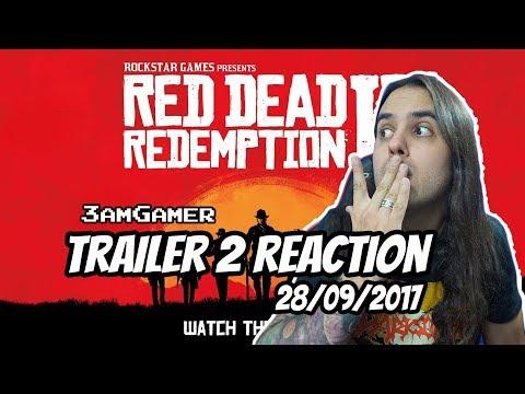 Red Dead Redemption 2 Reacción al Trailer
