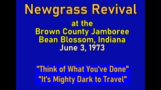 Two Classic Bluegrass Songs - Newgrass Revival 1972 OR 1973