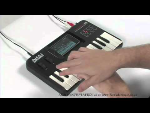 Akai Synthstation 25 Demo - Nevada Music UK