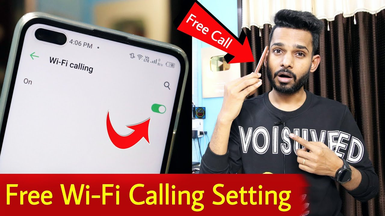 How to Enable Wi-Fi Calling Settings in Smartphone | How to Use Wi-Fi Calling | Free Call