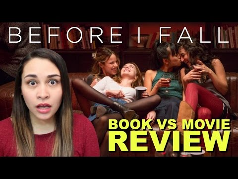 Before I Fall - Book vs Movie Review