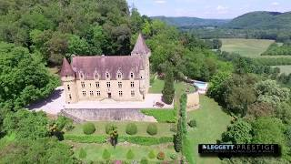 Chateau in Aquitaine - Dordogne - Outstanding Château LEGGETT 66670JF24