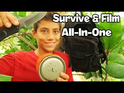 My Ultralight Survival Kit, Camera Bag In-One