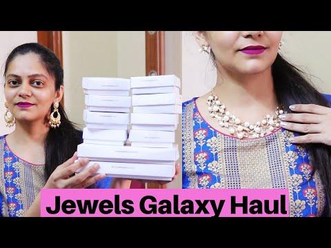 💕amazon-flipkart-jewellery-haul-under-299💕bridal-set,-bracelet,-earrings,rings💕jewels-galaxy-haul