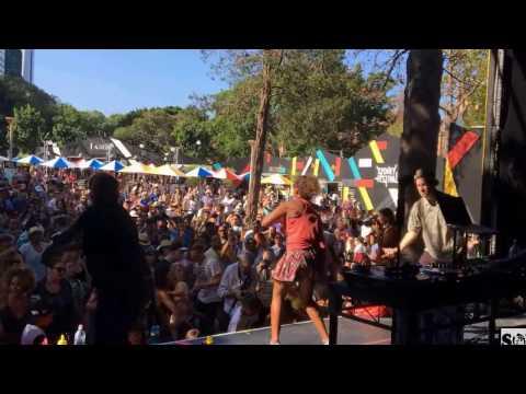 SOUL OF SYDNEY PICNIC - Soul Patrol Dancers, MC Pep-C & DJ Phil Toke at Sydney Festival