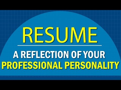 How to Make a Resume for first Job CareerBuilder India - YouTube