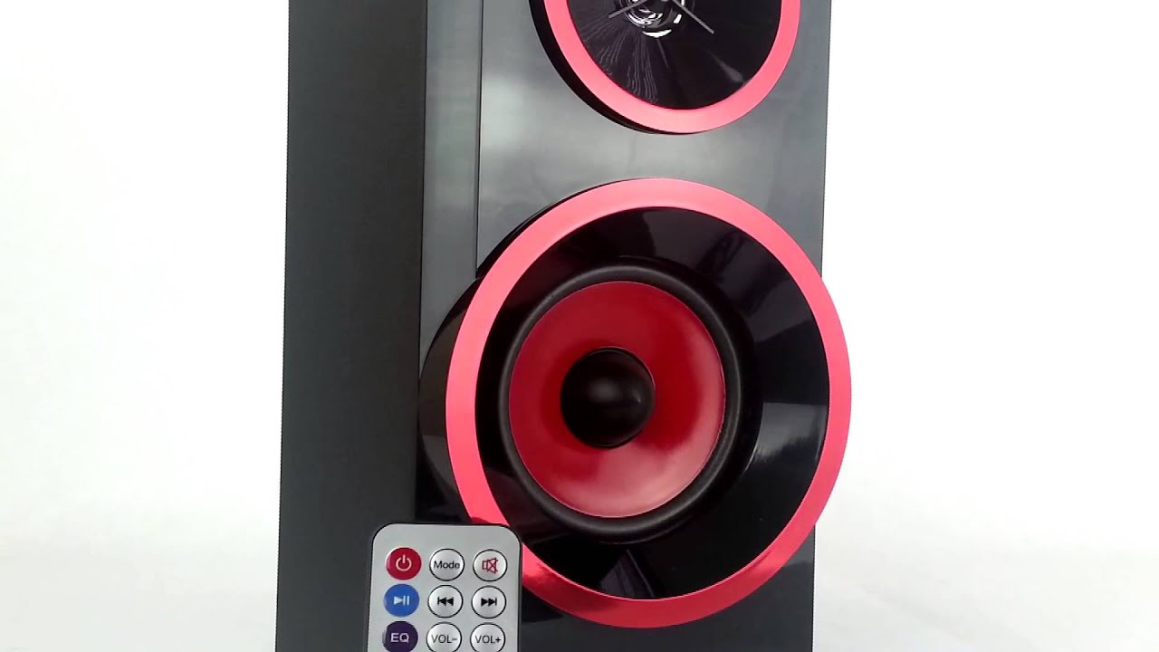 QFX CS 168 RED Portable BoomBox Speaker USB SD FM Radio Aux Music Player    YouTube