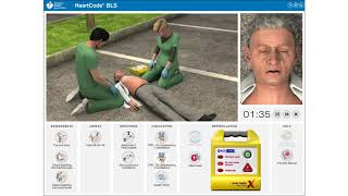 eSim - Two-Rescuer Adult BLS