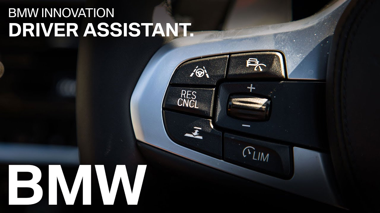 Tech in the all new BMW 5 Series - adaptive cruise control